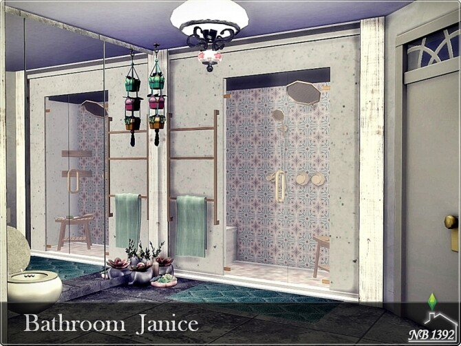 Janice Bathroom by nobody1392 at TSR image 838 670x503 Sims 4 Updates