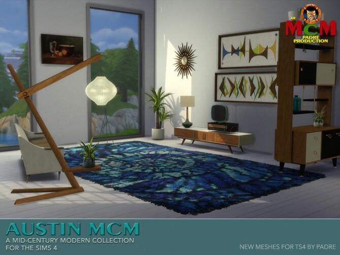 Sims 4 Austin MCM Set by padre at TSR