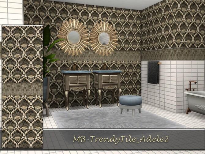 MB Trendy Tile Adele SET by matomibotaki at TSR image 845 670x503 Sims 4 Updates