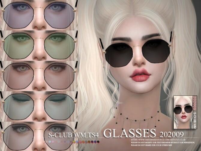 Sims 4 Glasses 202009 by S Club WM at TSR