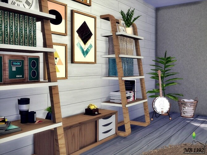 Sims 4 Office Aron by nobody1392 at TSR