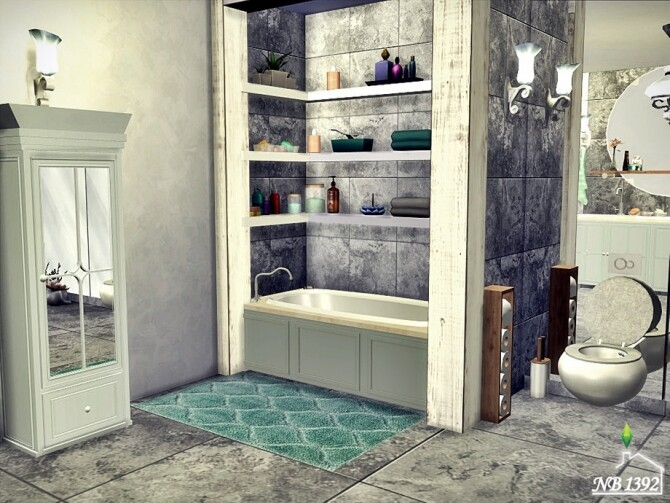 Janice Bathroom by nobody1392 at TSR image 859 670x503 Sims 4 Updates