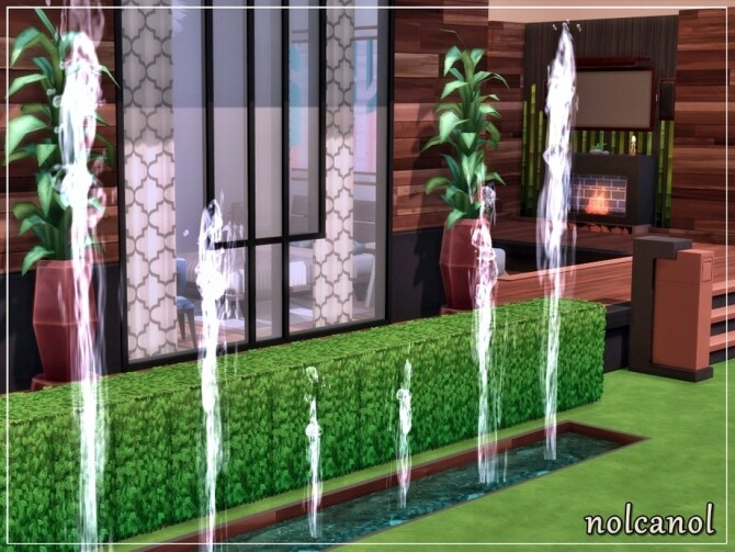 Modern Shila house by nolcanol at TSR image 860 670x503 Sims 4 Updates