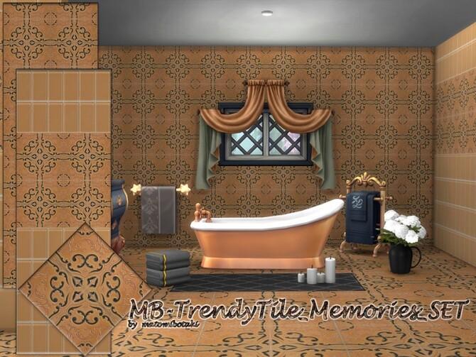 Sims 4 MB Trendy Tile Memories SET by matomibotaki at TSR
