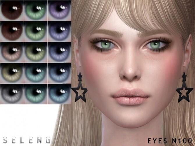 Sims 4 Eyes N100 by Seleng at TSR