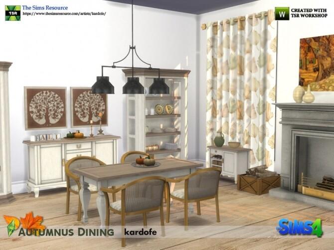 Autumnus Dining by Kardofe