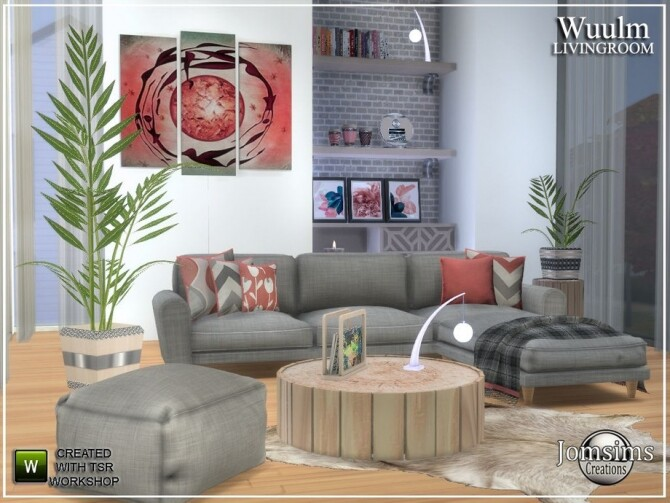 Wuulm living room by  jomsims at TSR image 8713 670x503 Sims 4 Updates