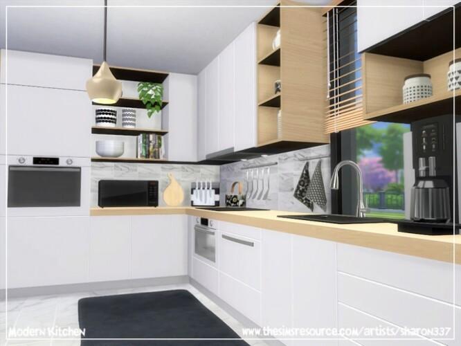 Modern Kitchen by sharon337