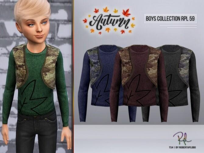 Sims 4 Boys Collection RPL 59 by RobertaPLobo at TSR