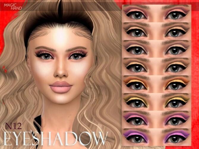 Sims 4 Eyeshadow N12 by MagicHand at TSR