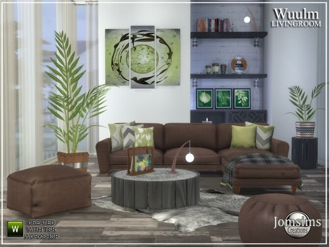 Wuulm living room by  jomsims at TSR image 9214 670x503 Sims 4 Updates