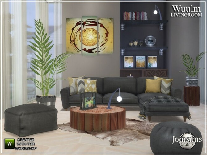 Wuulm living room by  jomsims at TSR image 9412 670x503 Sims 4 Updates