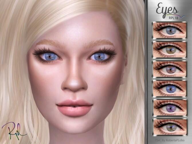 Sims 4 Eyes RPL18 by RobertaPLobo at TSR