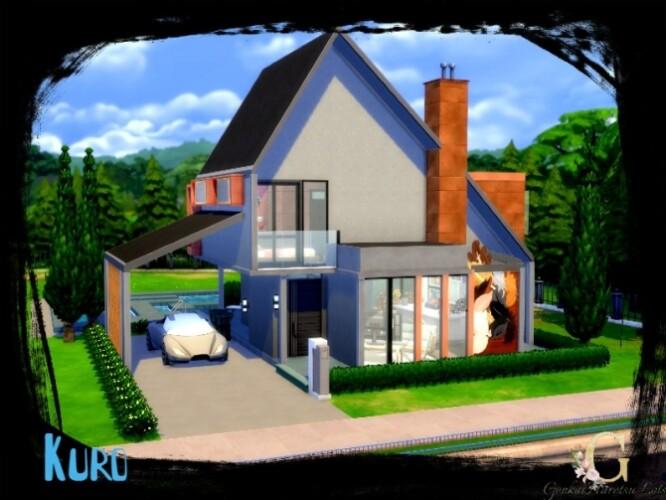 Kuro Modern house for big family by GenkaiHaretsu