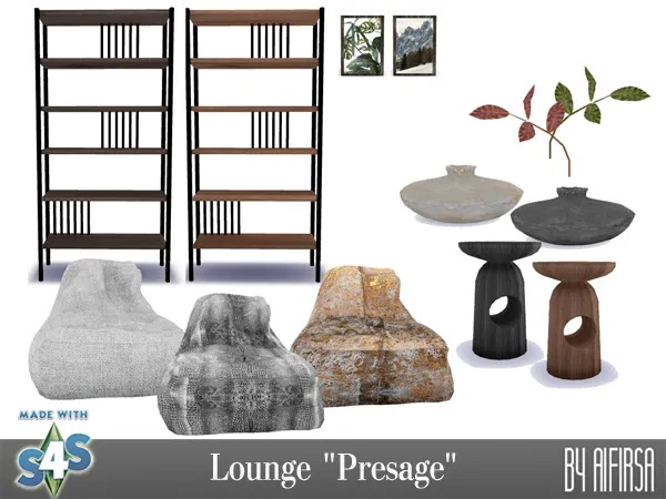 Presage lounge at Aifirsa image 965 Sims 4 Updates