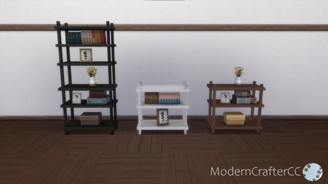 Asymmetric Balance Bookshelf Addon Set