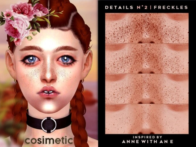 Details N2 Freckles by cosimetic