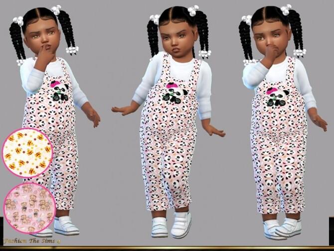 Sims 4 Jumpsuit Samara baby by LYLLYAN at TSR