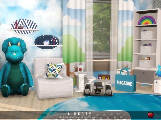 Sims 4 Liberty kids room by melapples at TSR