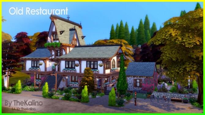 Old Restaurant at Kalino image 985 670x377 Sims 4 Updates