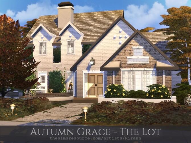 Sims 4 Autumn Grace House by Rirann at TSR