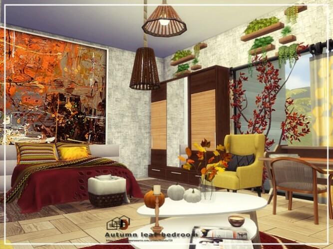 Autumn-leaf-bedroom-2