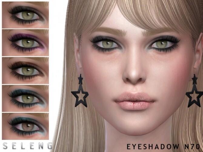 Sims 4 Eyeshadow N70 by Seleng at TSR