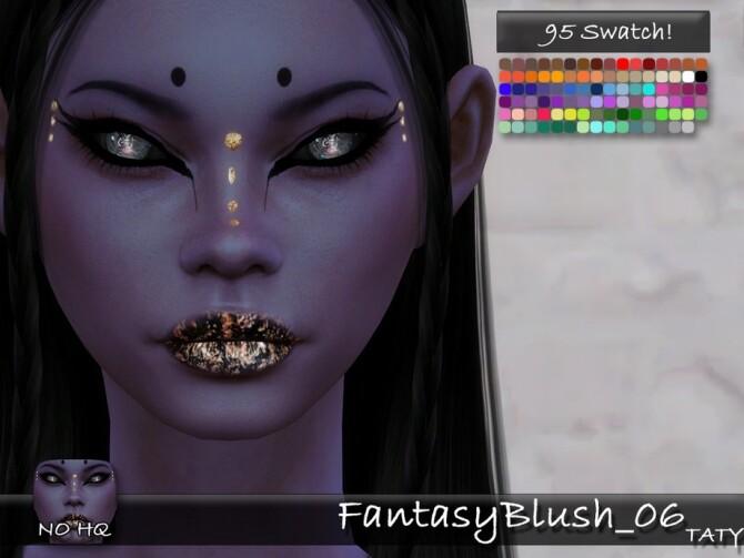 Sims 4 Fantasy Blush 06 by tatygagg at TSR