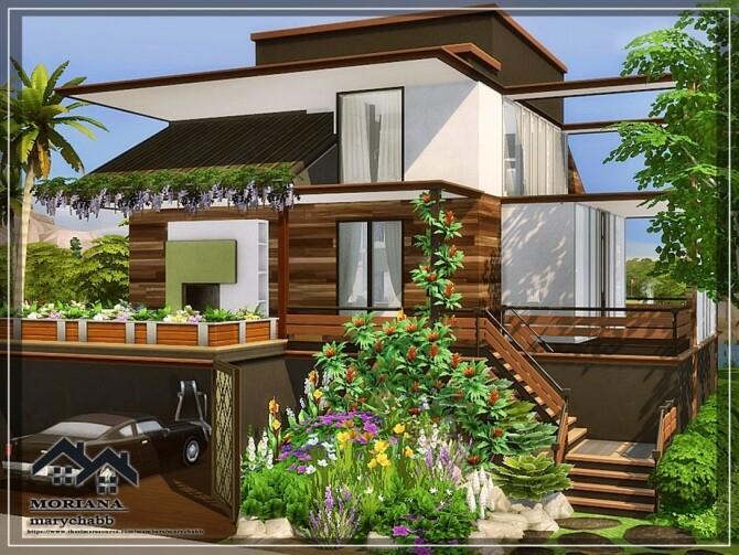 Sims 4 Moriana House by marychabb at TSR