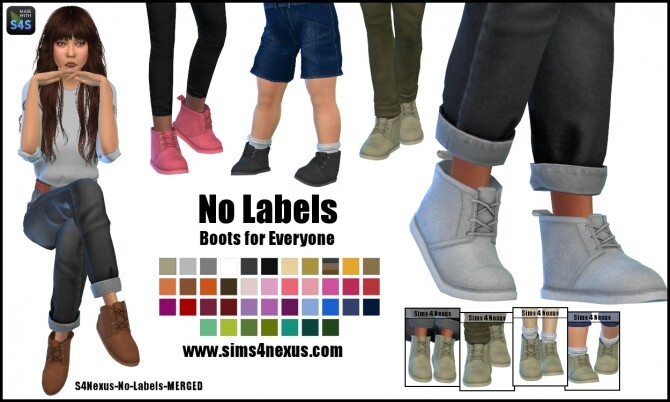 No-Labels-Boots