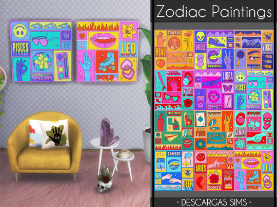 Zodiac-Paintings