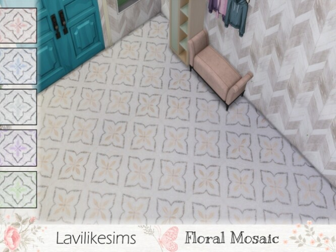 Floral Mosaic by lavilikesims