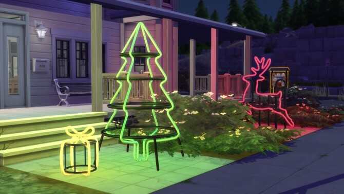 Sims 4 Holidays 2020   A very industrial Christmas by littledica at Mod The Sims