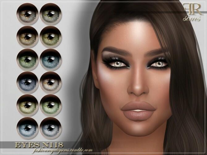 Sims 4 FRS Eyes N118 by FashionRoyaltySims at TSR