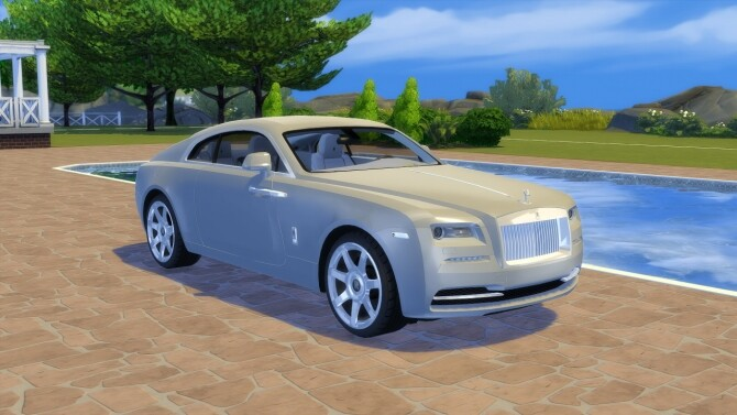 Sims 4 Rolls Royce Wraith at LorySims