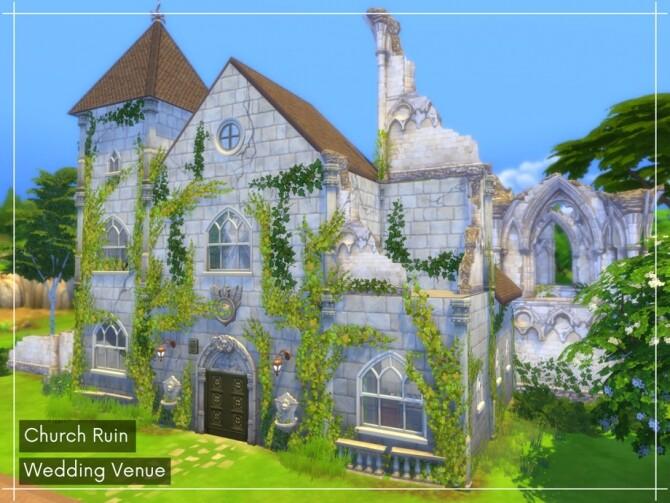 Church Ruin Wedding Venue by A.lenna
