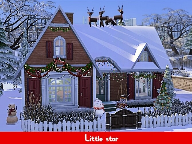 Sims 4 Little star home by GenkaiHaretsu at TSR