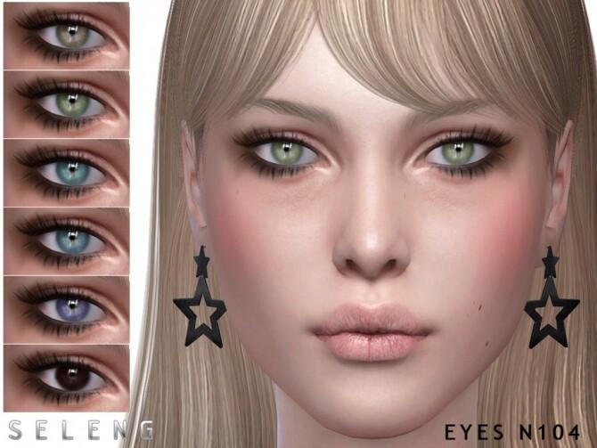 Sims 4 Eyes N104 by Seleng at TSR