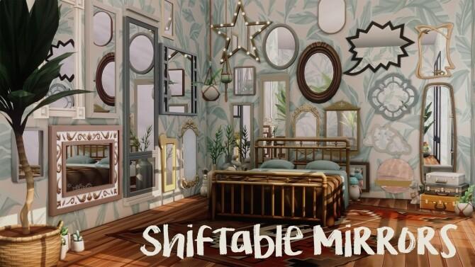 SHIFTABLE MIRRORS by amoebae