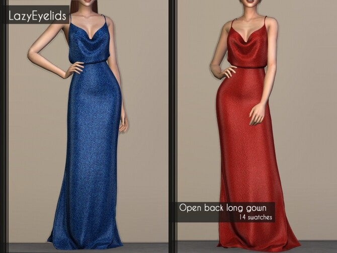 3 long gowns