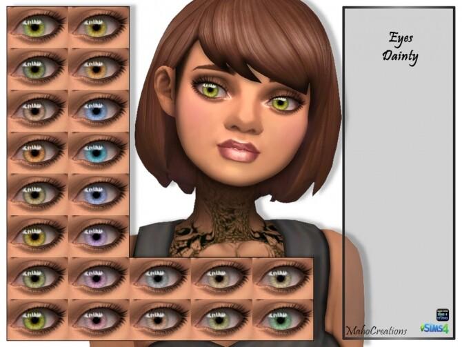 Eyes Dainty by MahoCreations