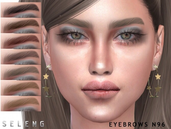 Eyebrows N96 by Seleng