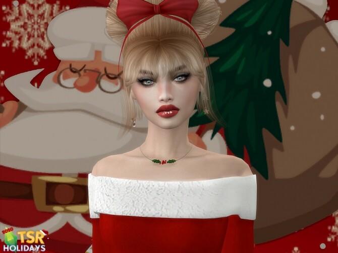 Sims 4 Samantha Loid Holiday Wonderland at MSQ Sims