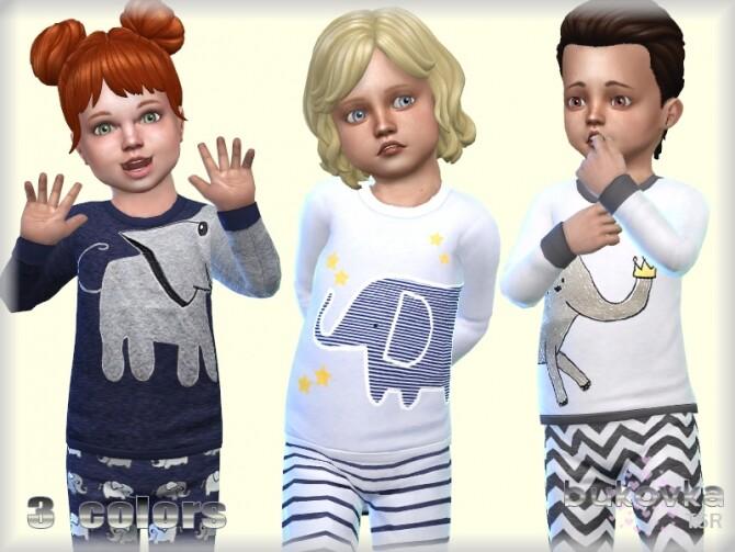 Sims 4 Sweater Elephant by bukovka at TSR