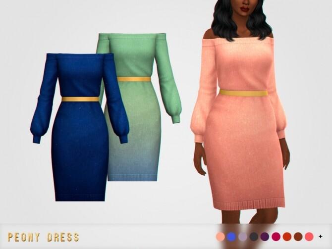 Peony Dress by pixelette