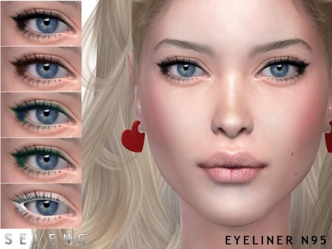 Sims 4 Eyeliner N95 by Seleng at TSR