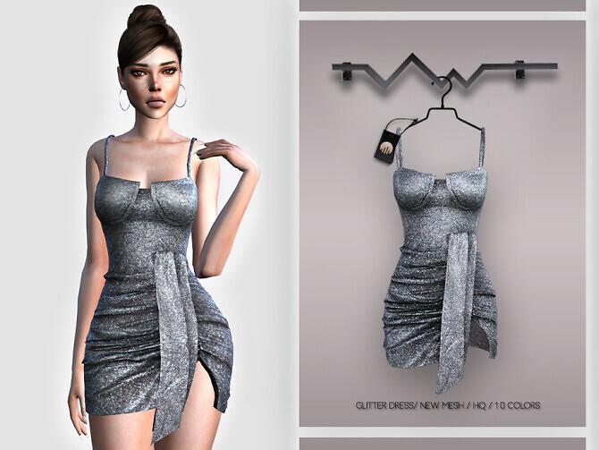 Glitter Dress BD395 by busra-tr
