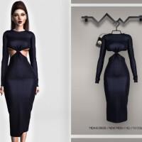 Midaxi Dress BD393 by busra-tr