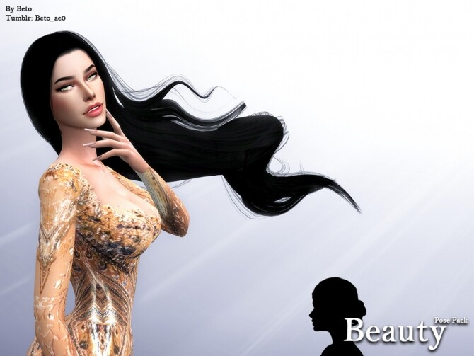 Sims 4 Beauty Pose Pack by Beto ae0 at TSR