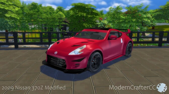 2009 Nissan 370Z Modified